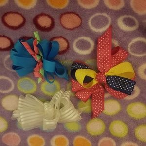 🎀 LOT 🎀 of hairbows.